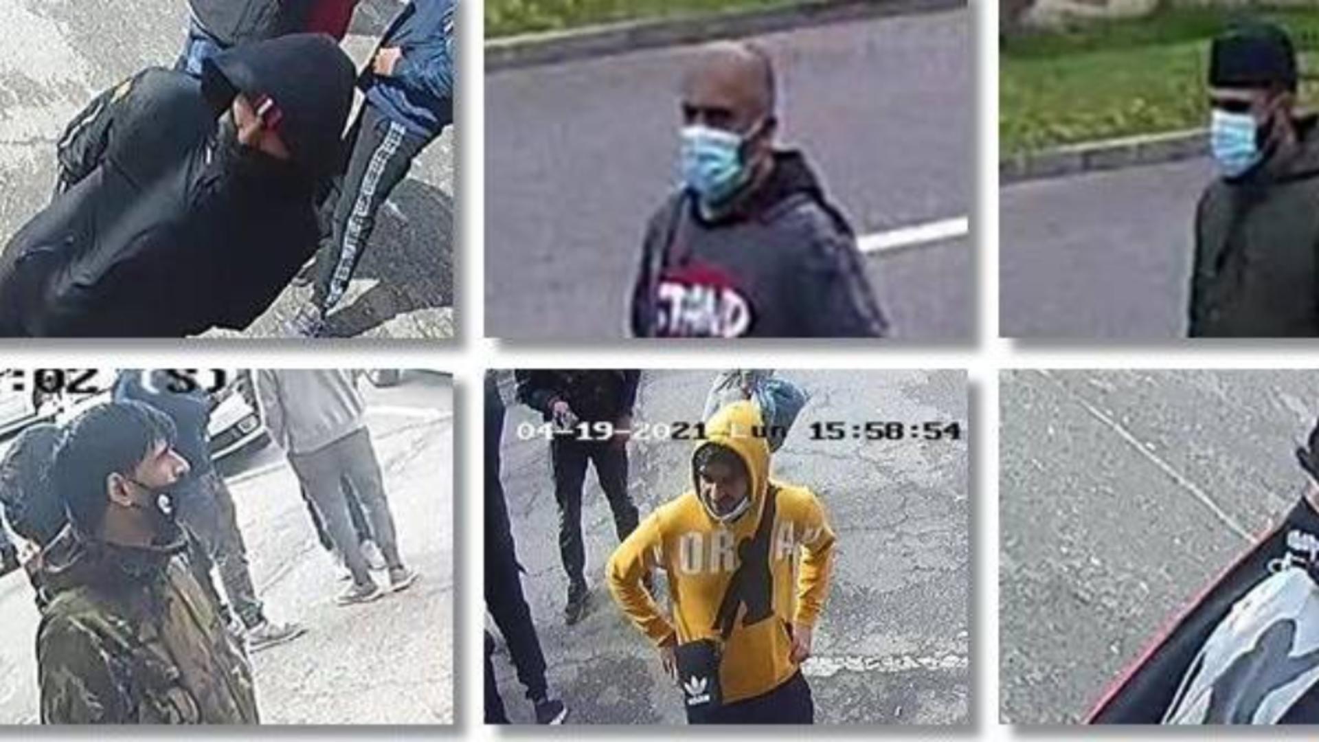 Cei șase suspecți în conflictul sângeros de la Timișoara (sursă: IPJ Timiș)
