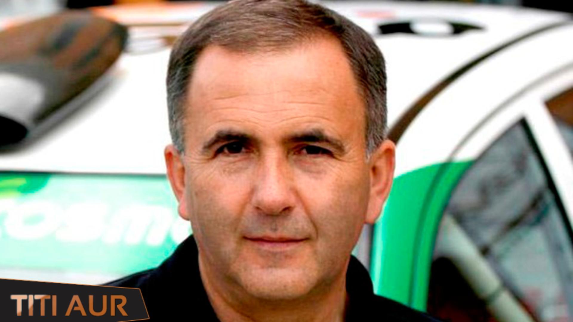 """Constantin """"Titi"""" Aur, fost pilot de raliuri, infectat cu noul coronavirus Foto: Facebook.com"""