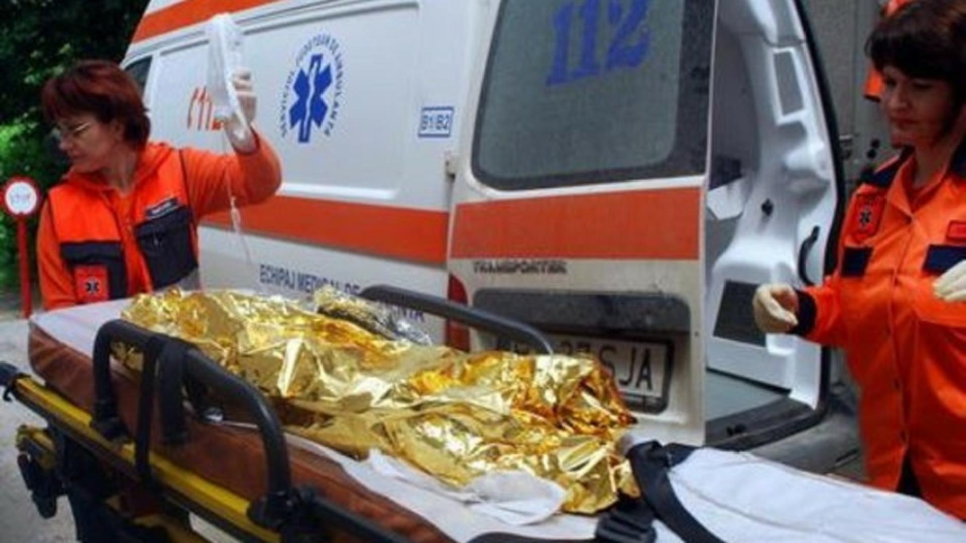Copil arsuri transferat București