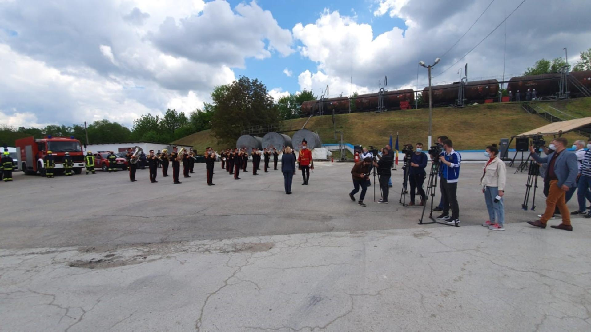 Recepție ajutor umanitar România-Republica Moldova