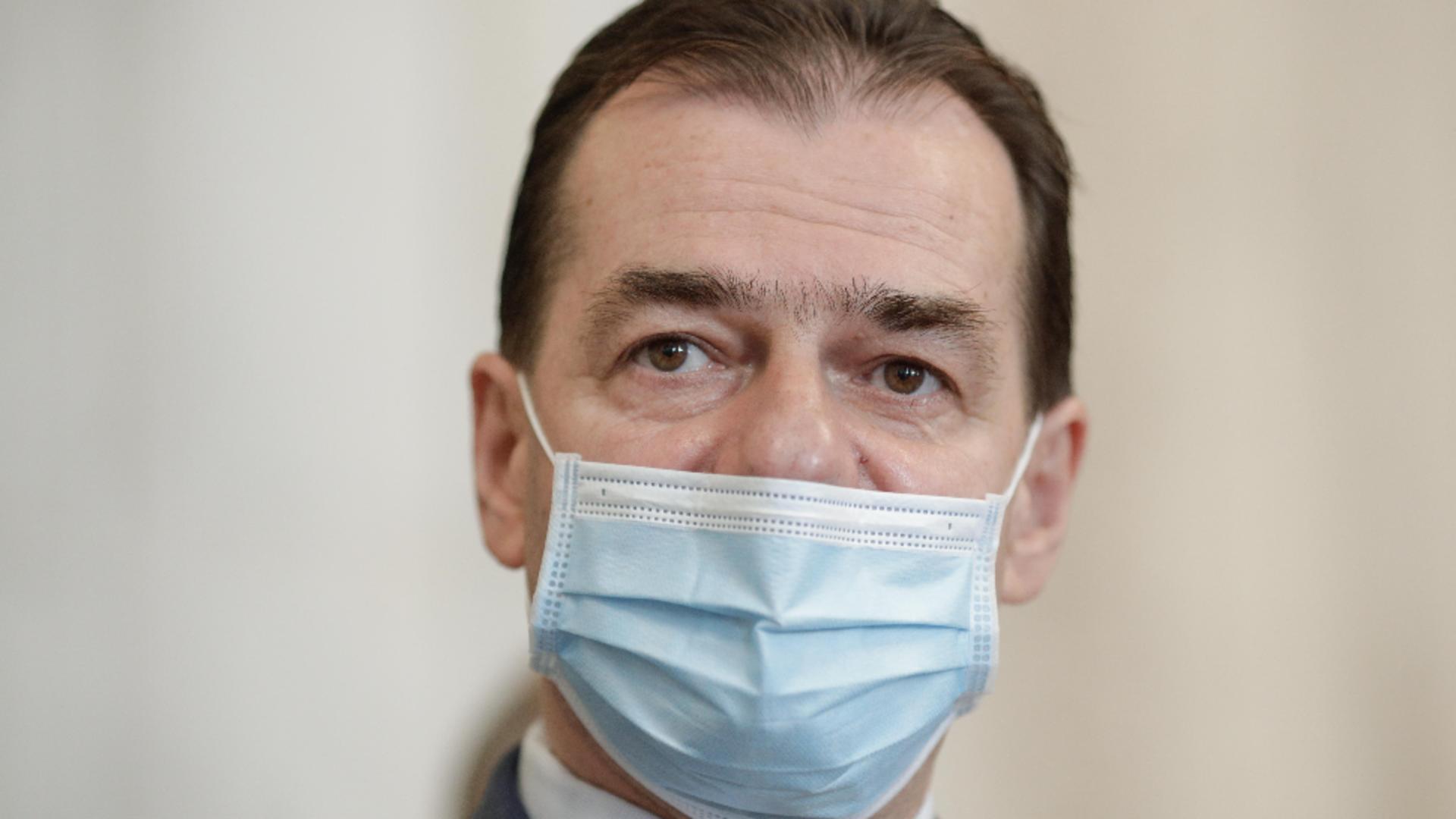 Ludovic Orban, președintele PNL / Foto:  Inquam Photos / George Calin