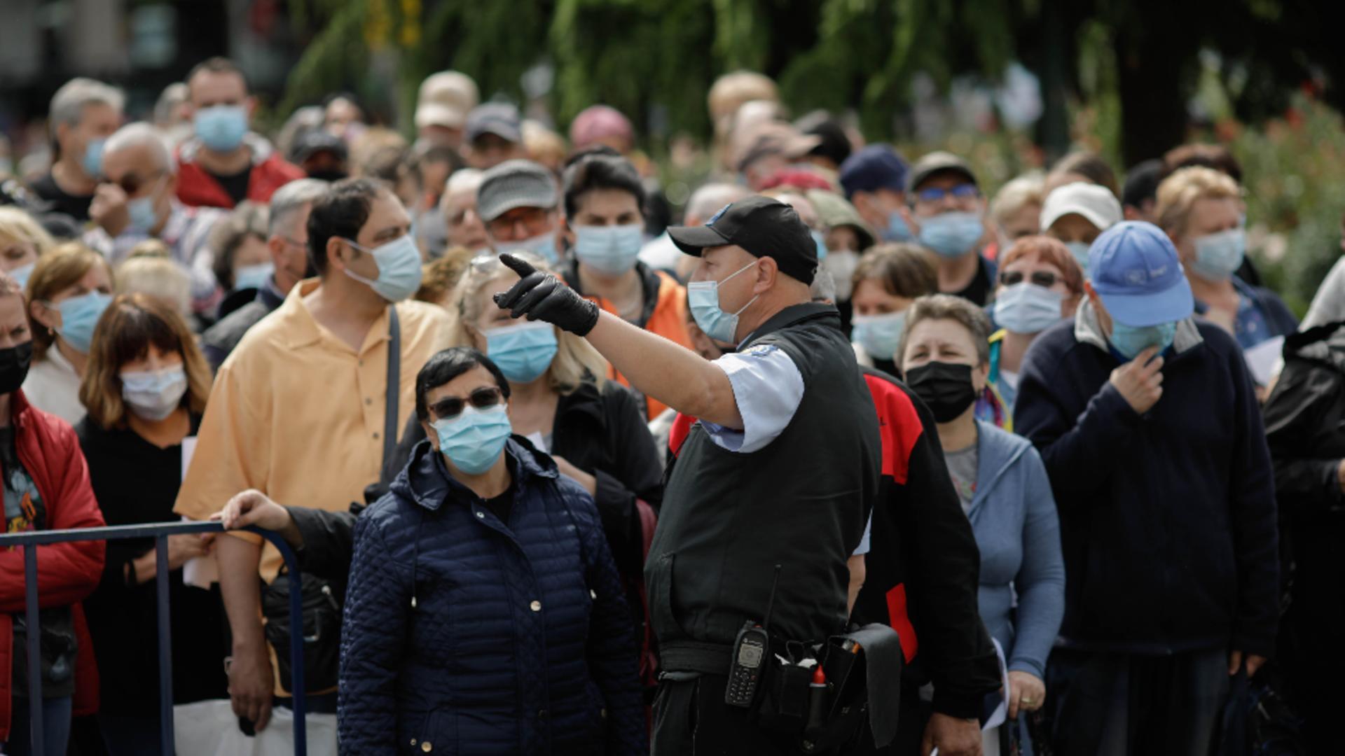 Maratonul de vaccinare anti-COVID-19 din București, a doua ediție! Foto: INQUAM/George Călin