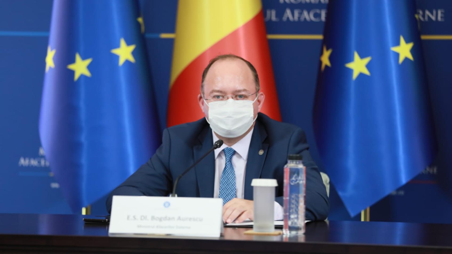 Bogdan Aurescu. Foto: mae.ro
