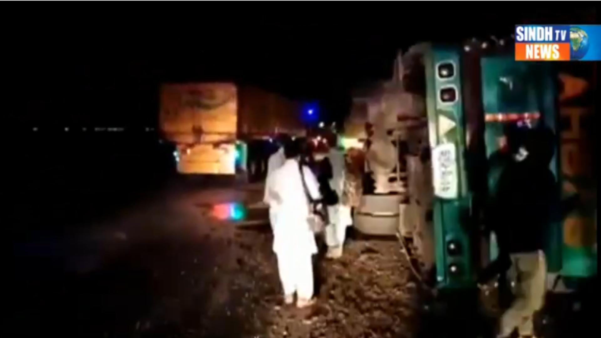 Accident Pakistan/ Foto: Captură Youtube