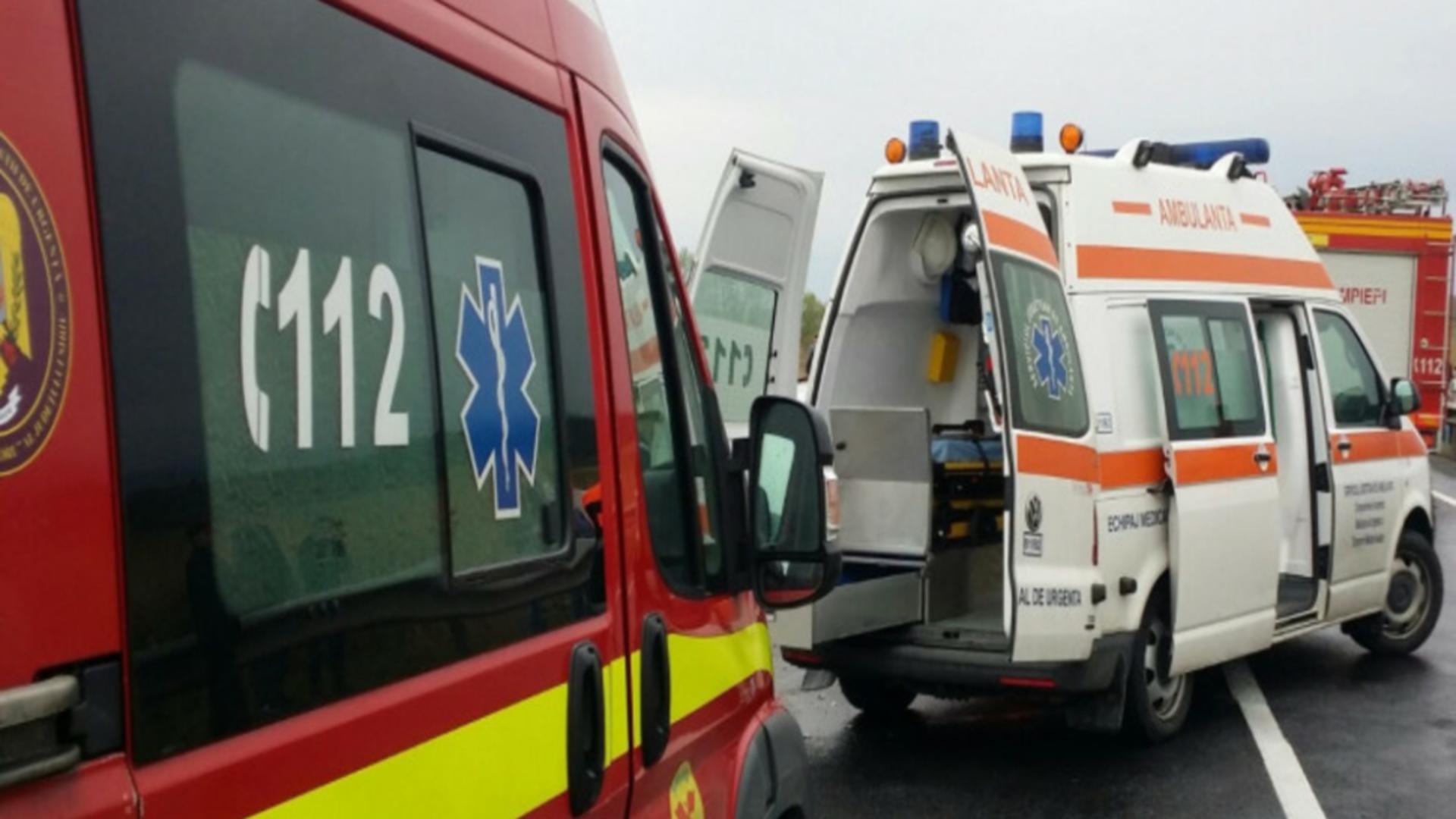 Accident DN1, județul Brașov