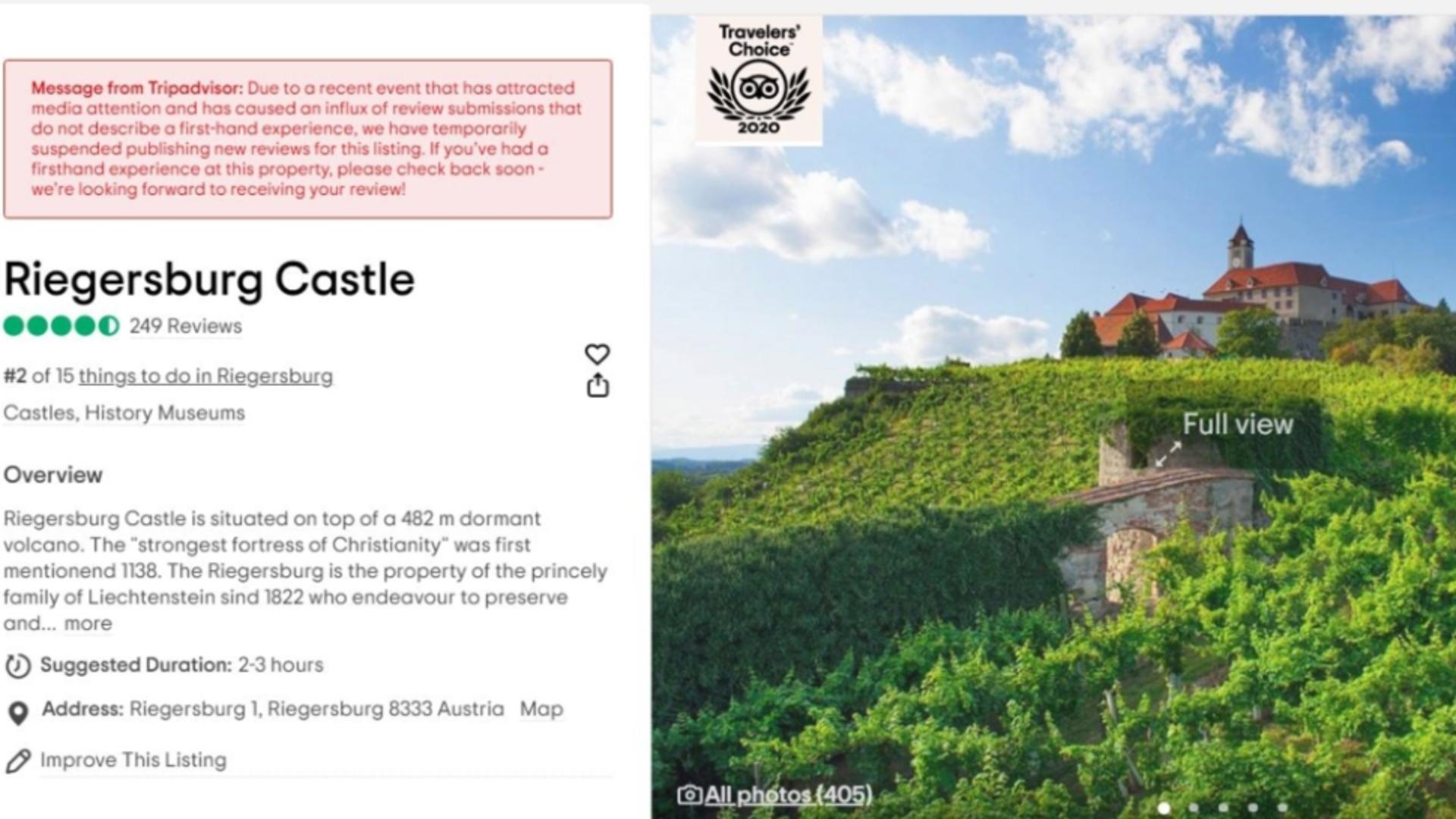 Castelul Riegersburg