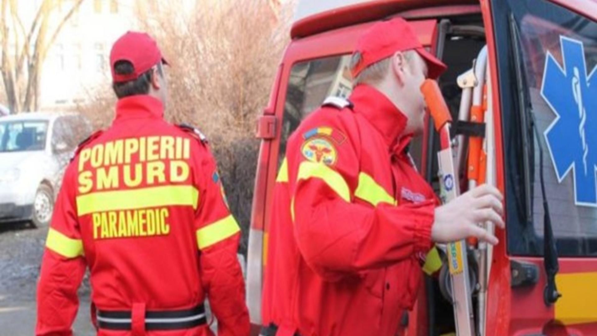 Intervenție echipe de prim-ajutor