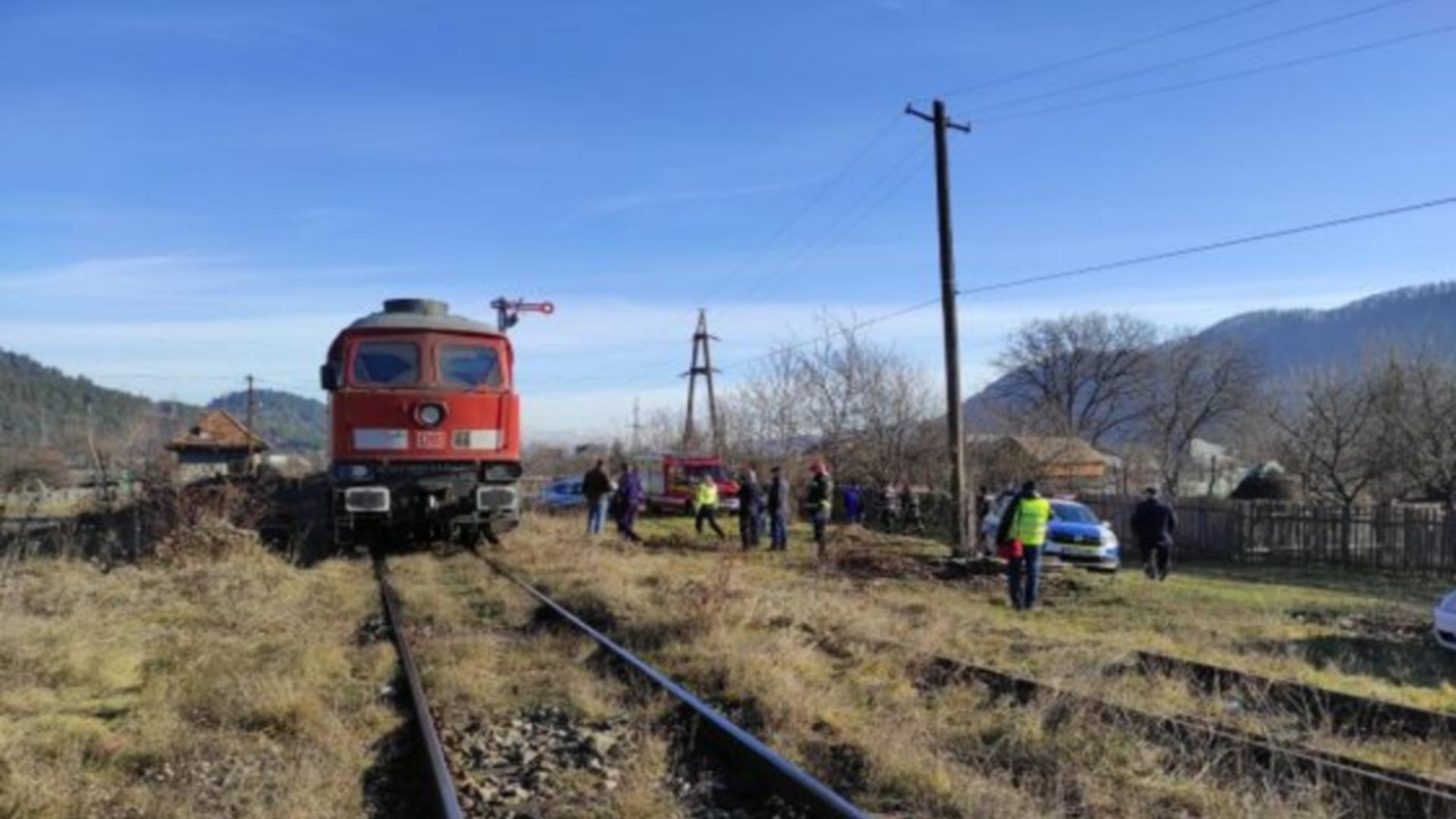 Accident feroviar județul Iași