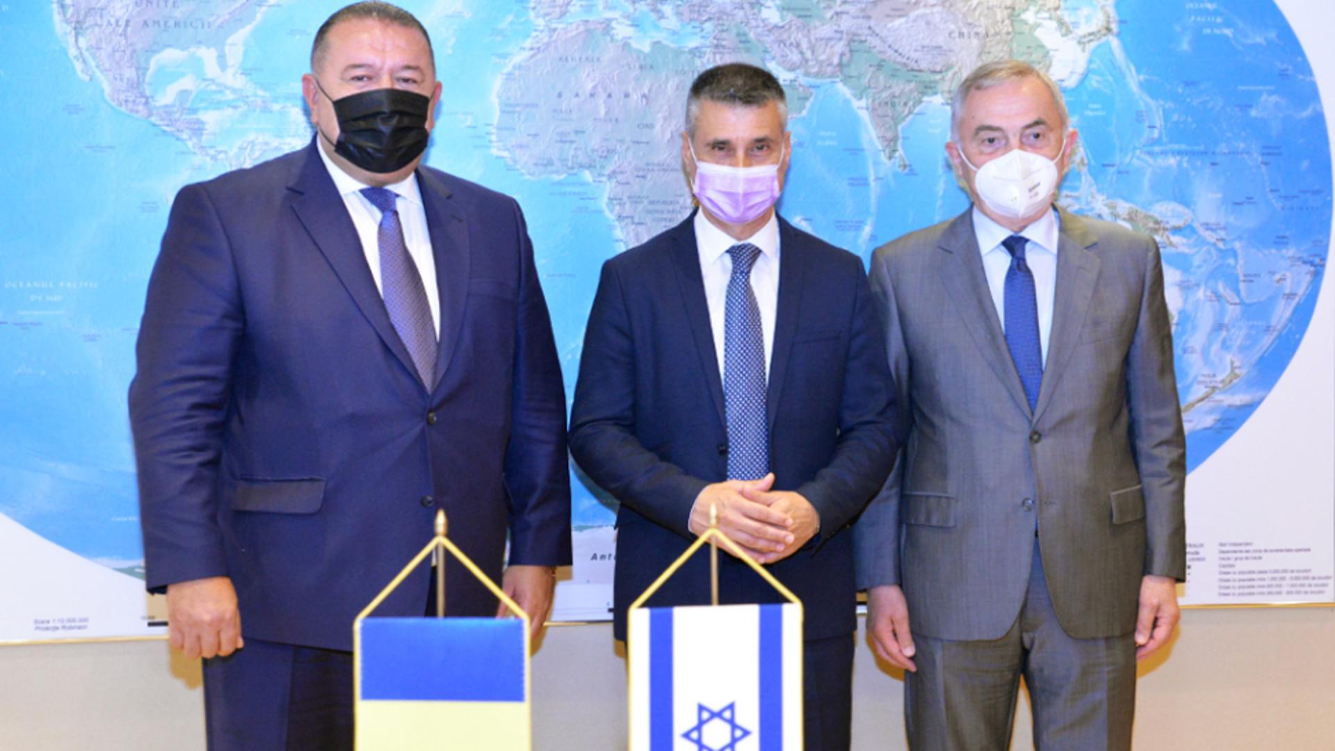 Vizita la CCIR a ambasadorului Statului Israel în România