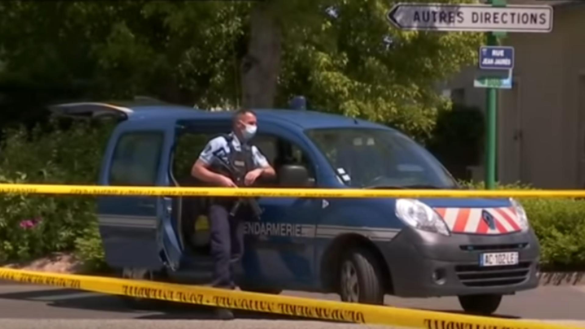 Atac în Franța. Foto: captură YouTube