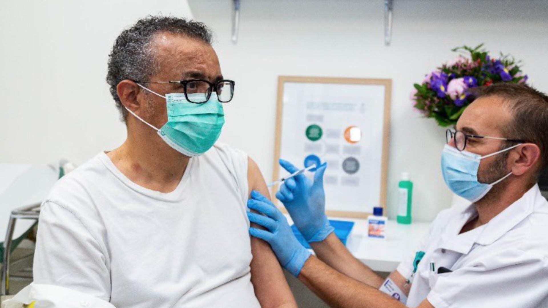 Tedros Adhanom Ghebreyesus, ;eful Organizației Mondiale a Sănătății
