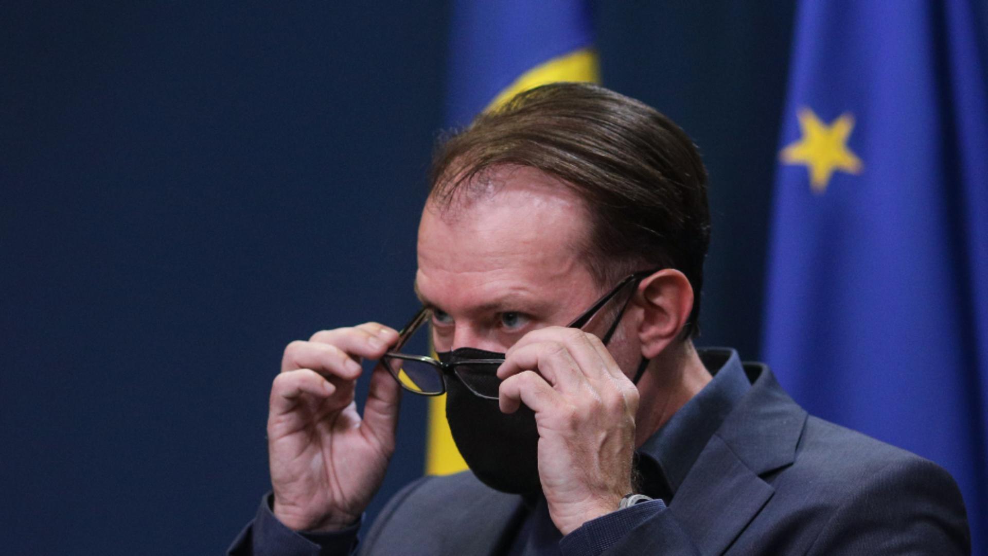 Florin Cîțu, premierul României Foto: Inquam Photos/Octav Ganea