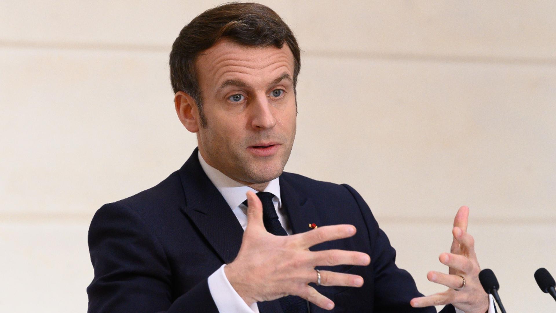 Emmanuel Macron, președintele Franței / Foto: Profimedia
