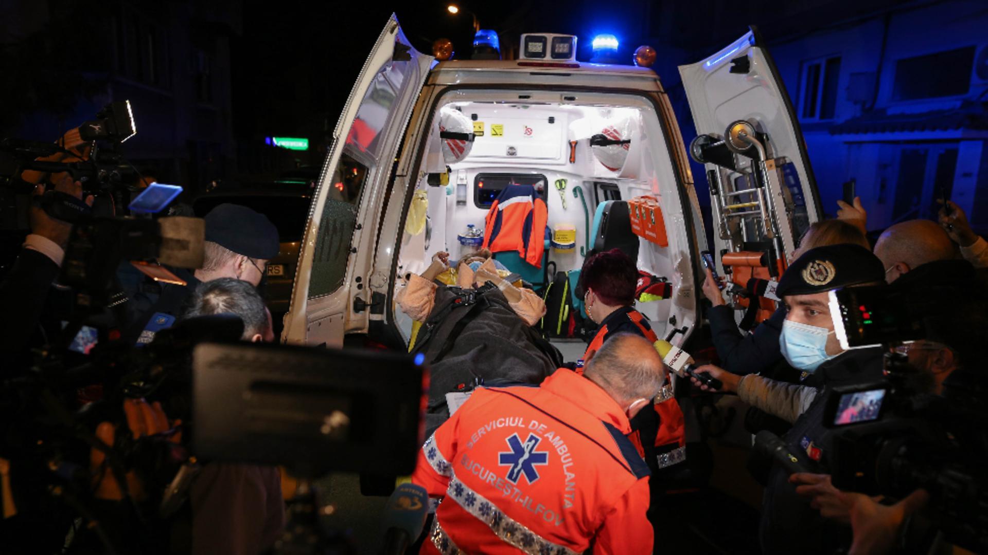 Evacuare Spital Foișor / Foto: Inquam Photos