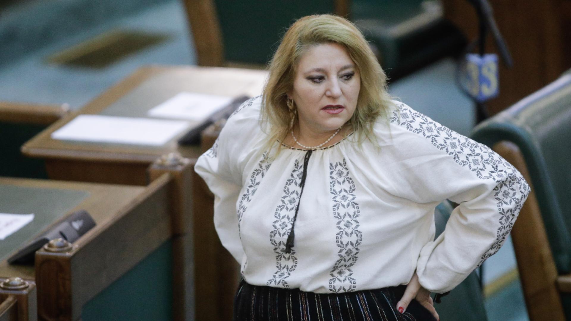 Diana Șoșoacă, la judecată! Află dacă mai poate reprezenta Senatul Foto: INQUAM/George Călin