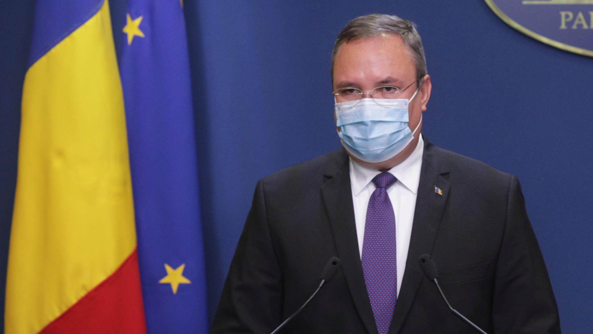 Ministrul Apărării Nicolae Ciucă / Foto: Inquam Photos / Octav Ganea