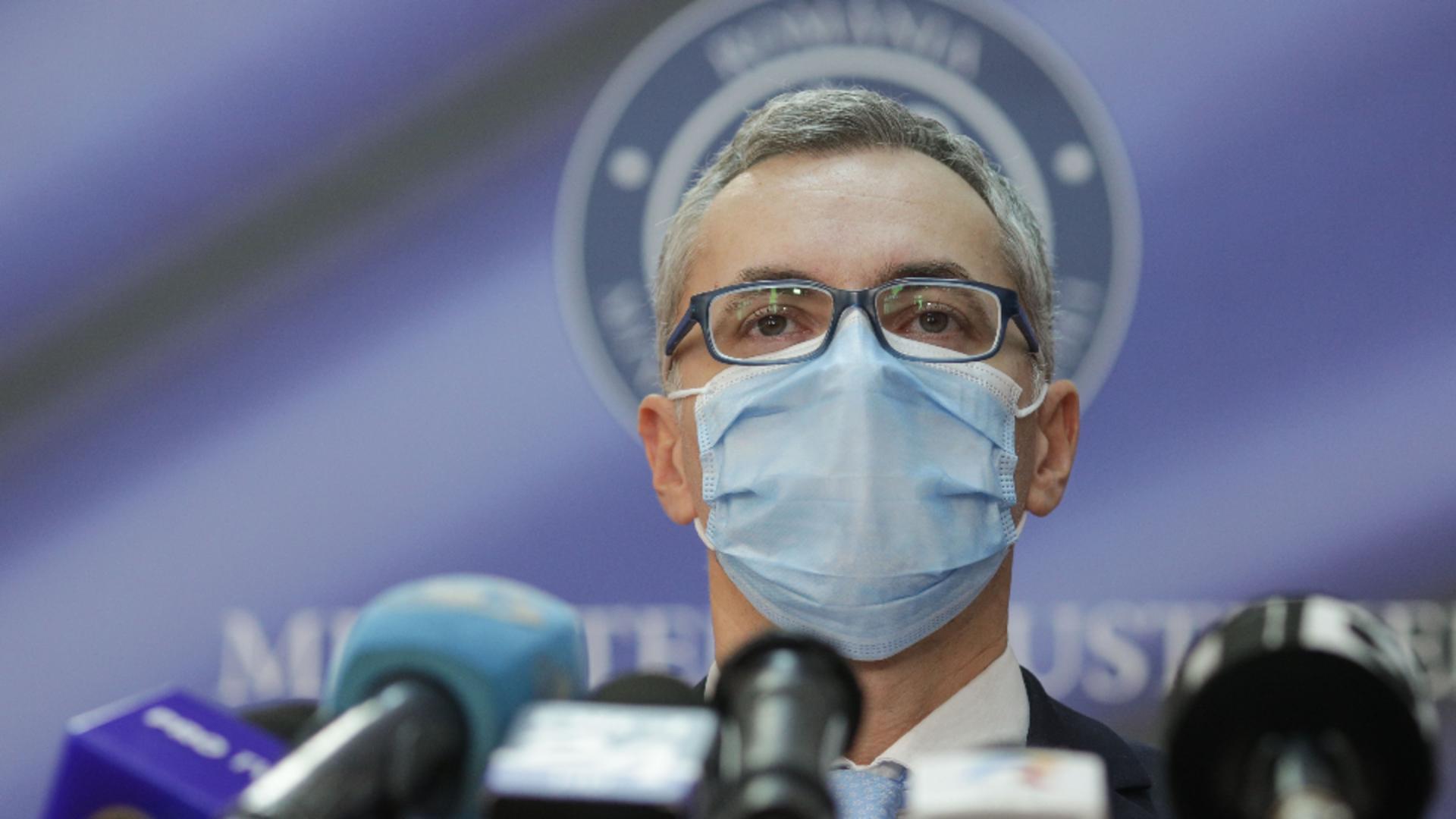 Stelian Ion, ministrul Justiției/ Foto: Inquam Photos / Octav Ganea