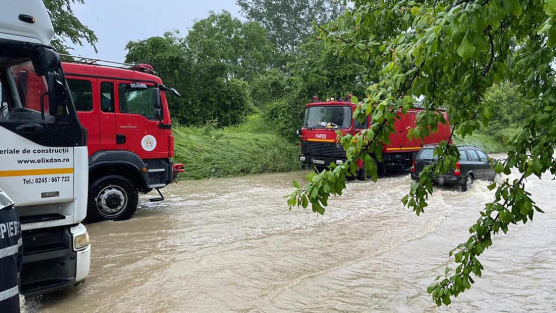Inundatii jud Dambovita (foto MDI TV)