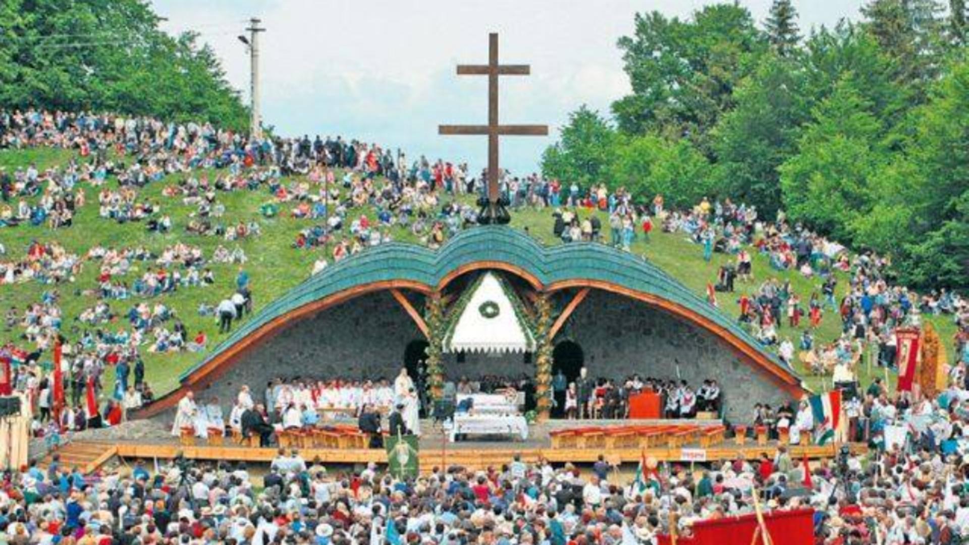 Pelerinajul catolic de la Șumuleu Ciuc