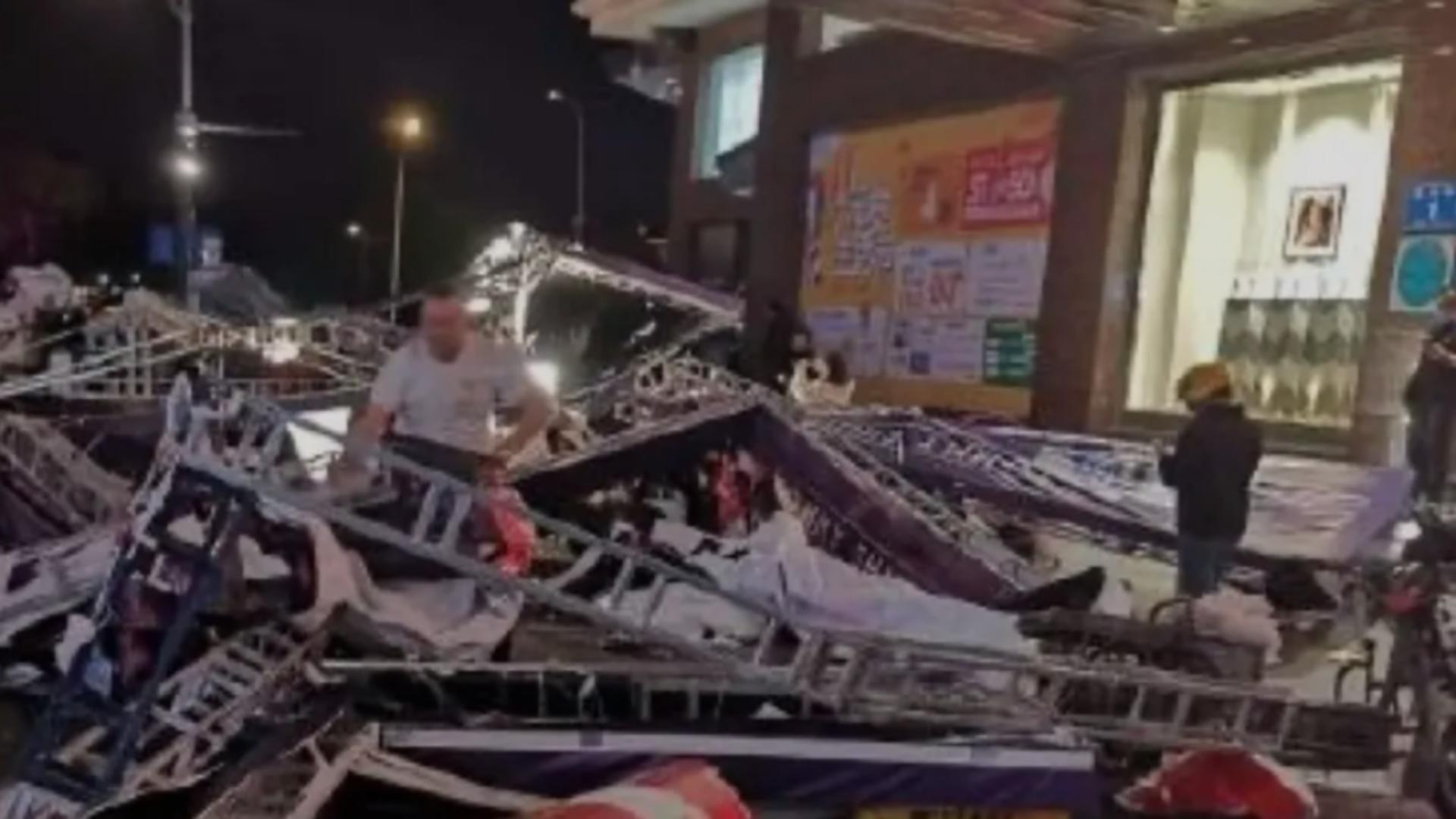 Furtună violentă China