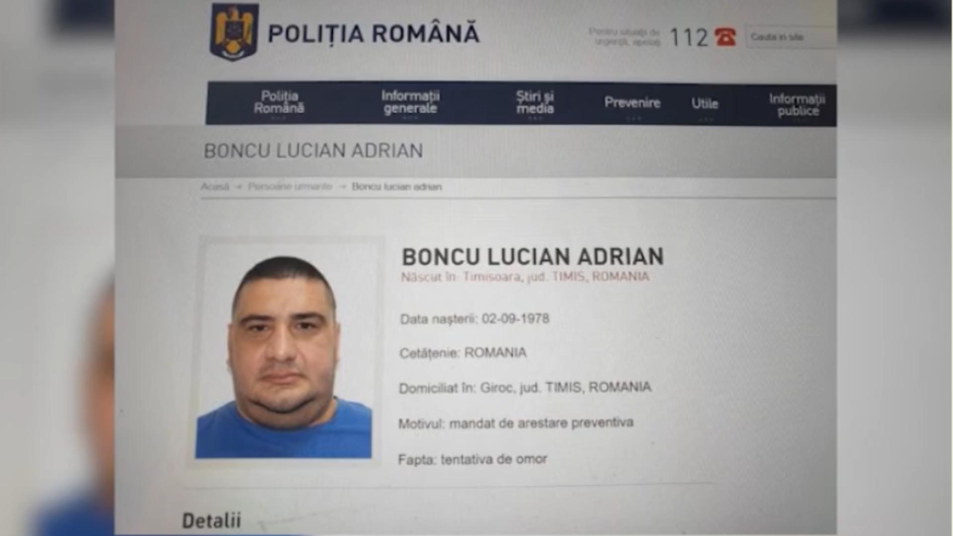 Lucian Boncu, lider interlop