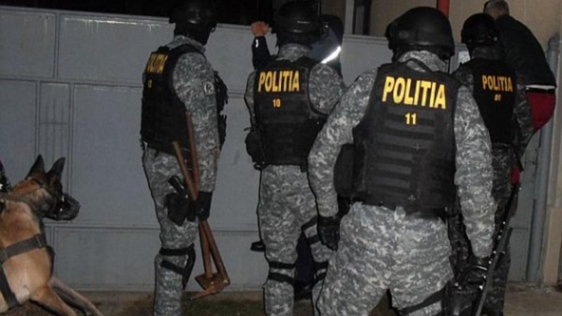 Intervenție poliție în Voluntari, Ilfov
