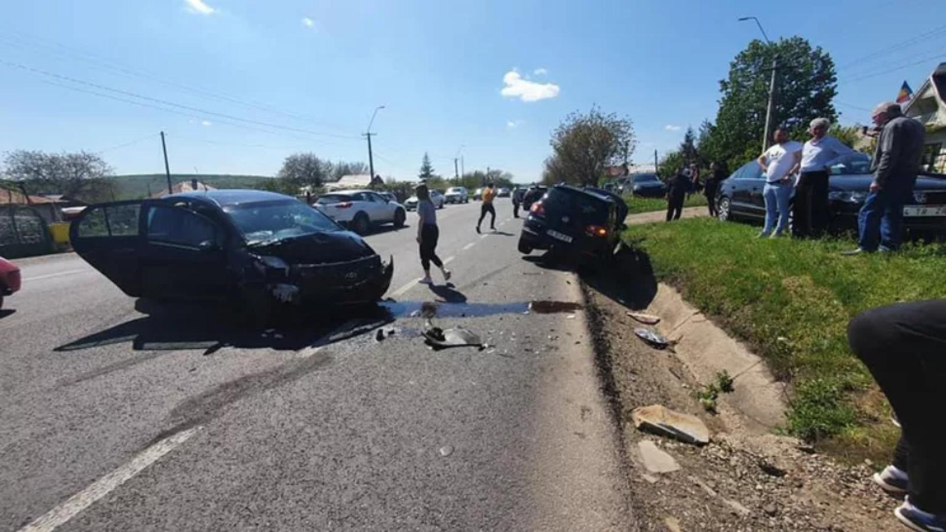 Accident in localitatea Budai, Iasi