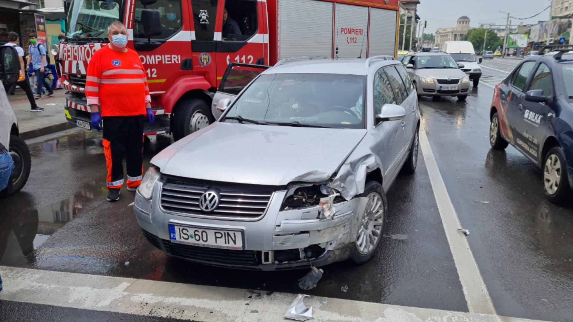 Accident Iași. Foto: ziaruldeiasi.ro