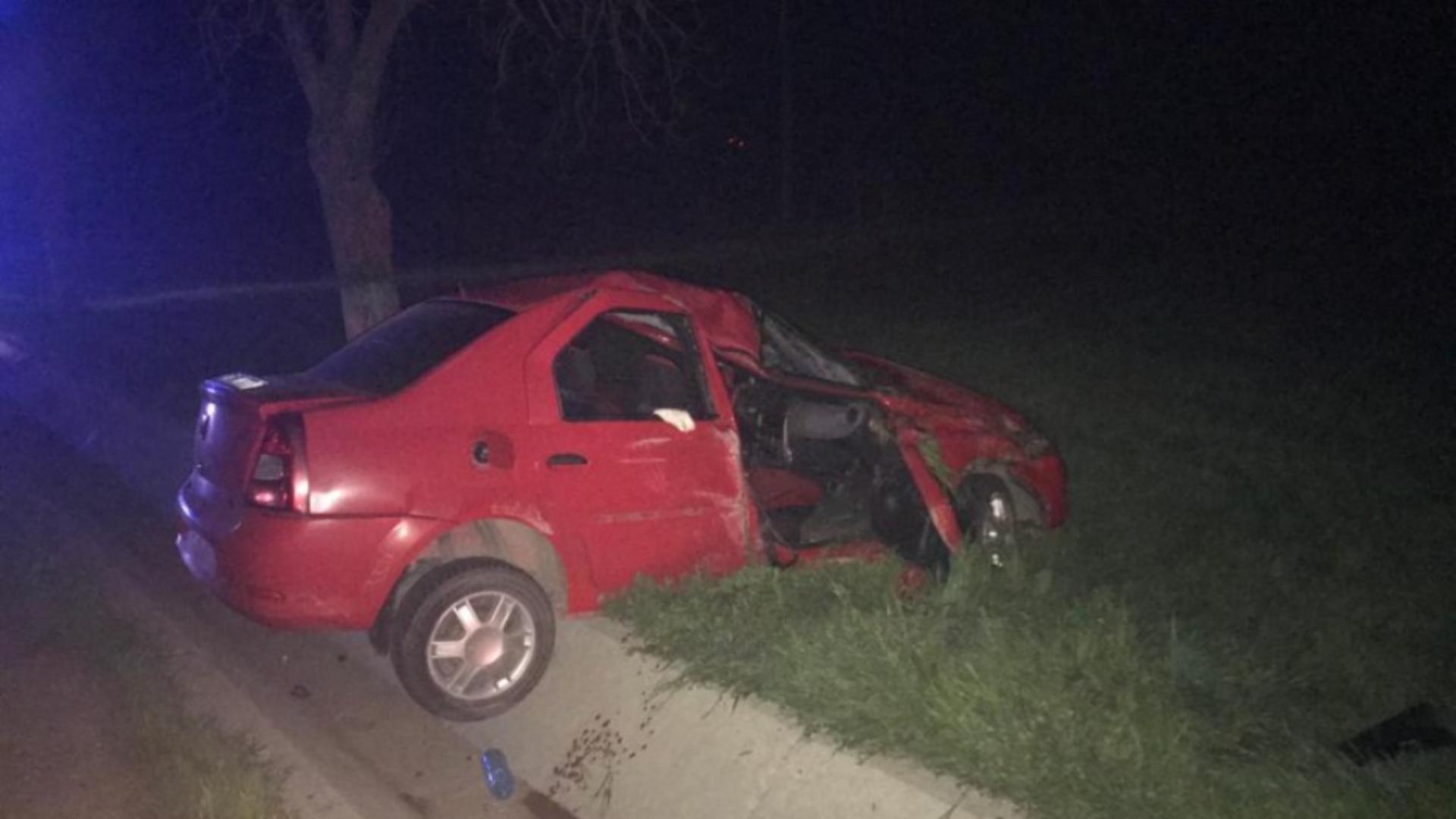 Accident în județul Tulcea
