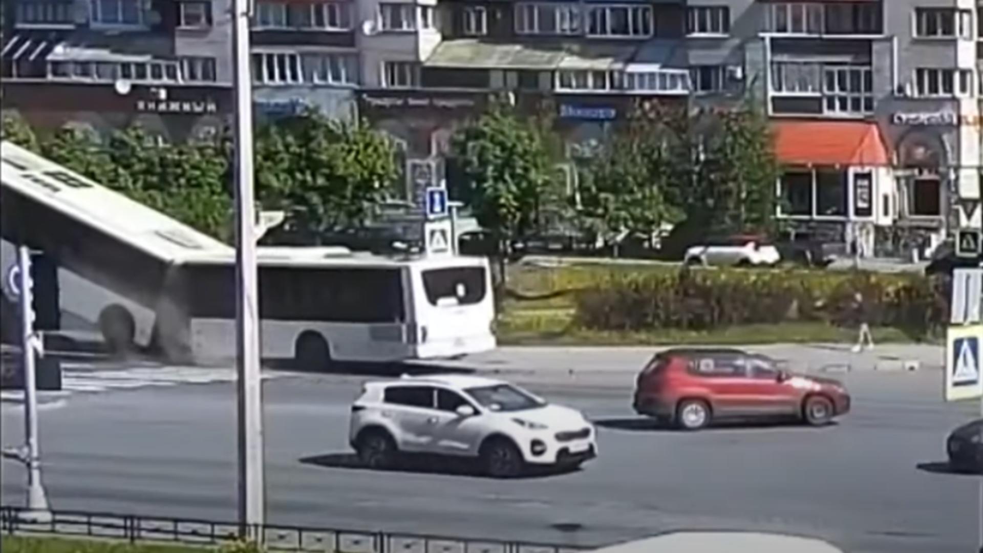 Accident Rusia. Foto: captură YouYube