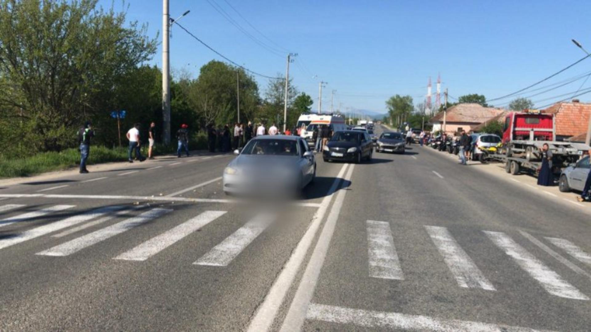 Accident mortal în Râmnicu Vâlcea (sursă foto: criterii.ro)