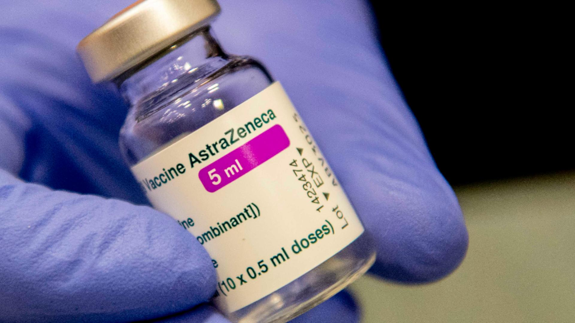 Vaccin AstraZeneca/foto: Profi Media
