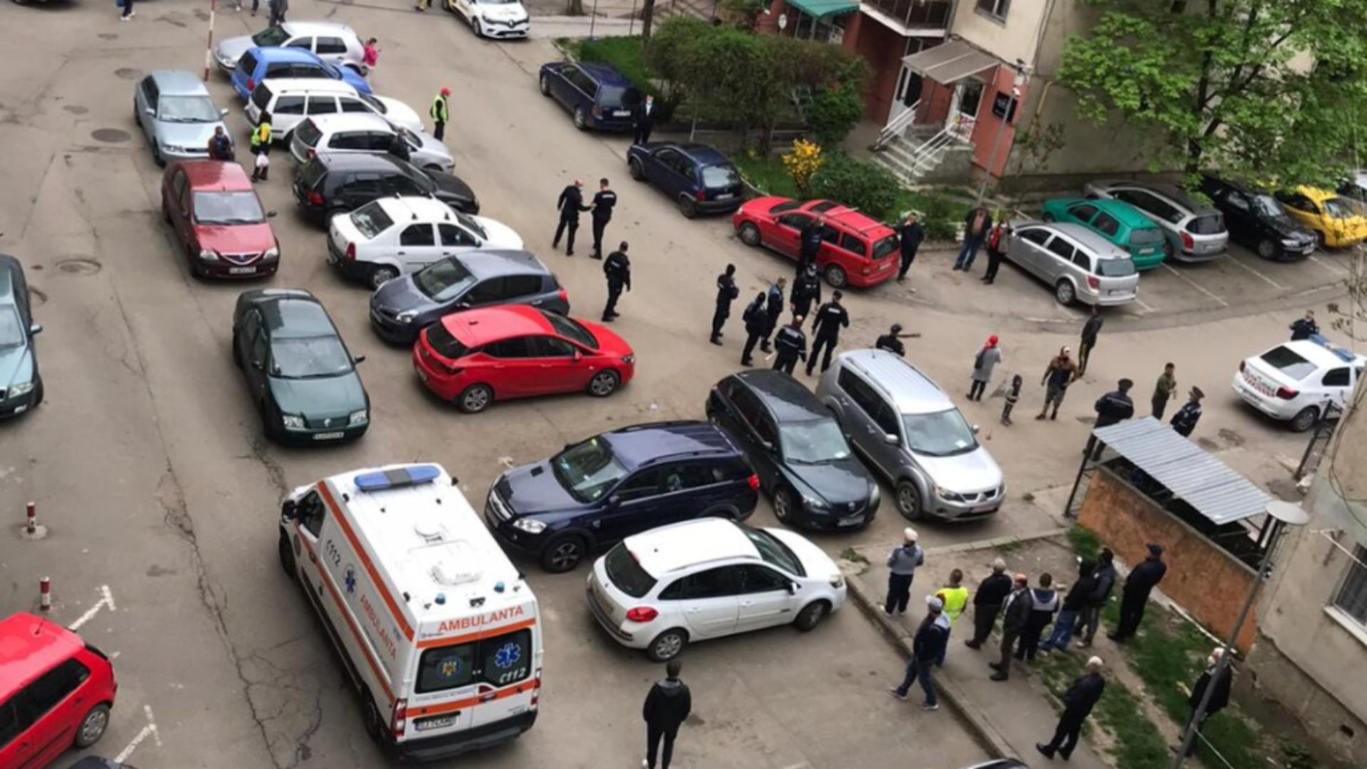 Conflict stradal violent la Zalau (foto: graiulsalajului.ro)