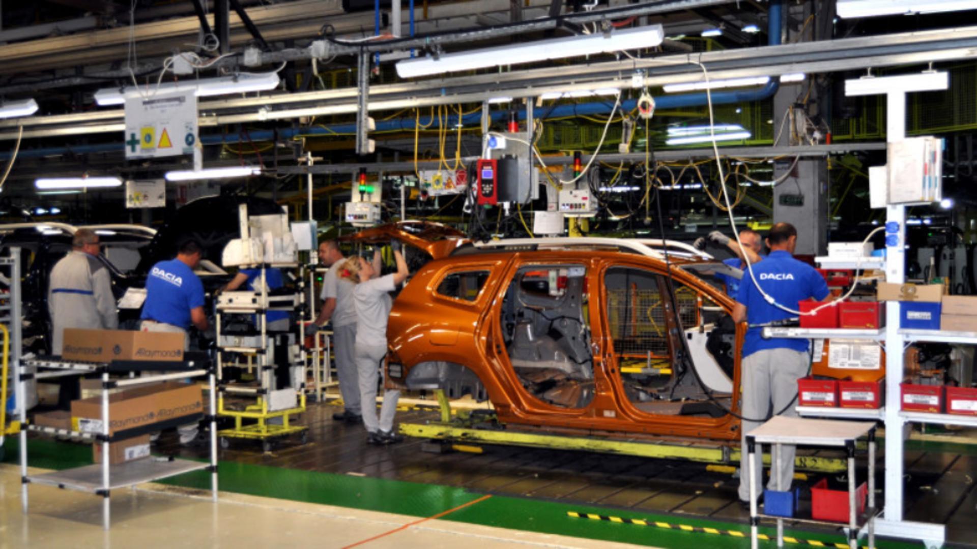 Linie de asamblare Dacia Mioveni