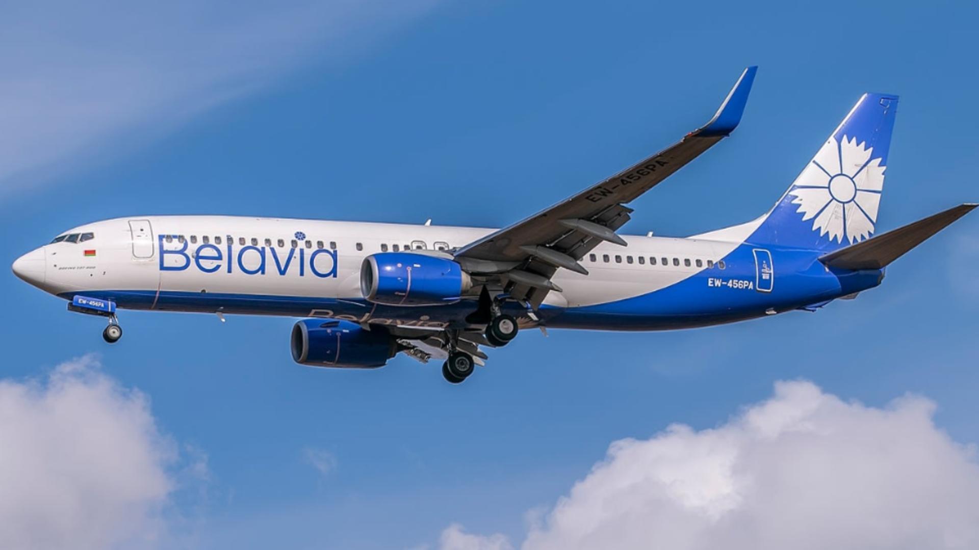 Primul efect după deturnarea avionului la Minsk: Un avion din Belarus a renunțat la cursa spre Barcelona, fără a intra în spațiul aerian UE