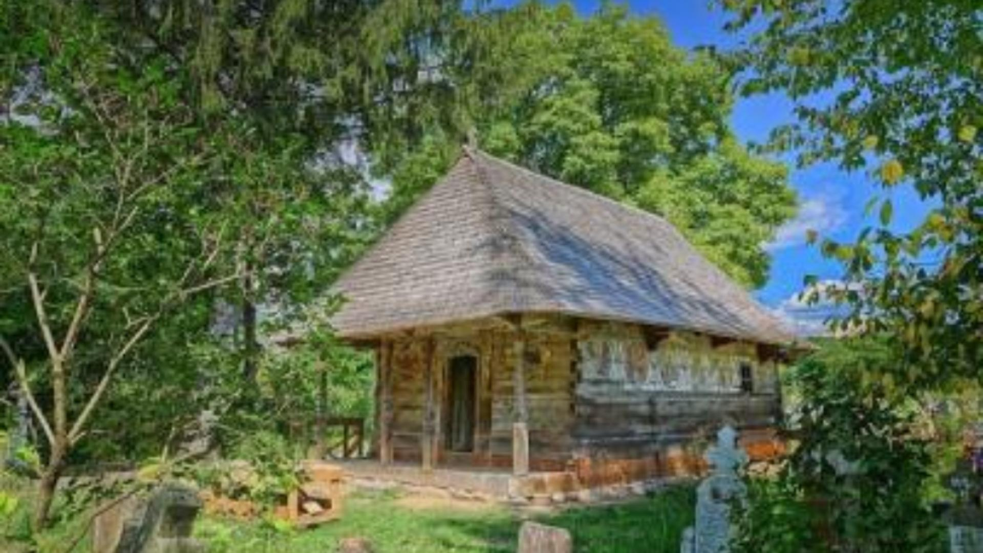 Biserica de lemn din satul Urși, Vâlcea, a câștigat un premiu european important în 2021 - UNDE poți vota online pentru Premiul publicului