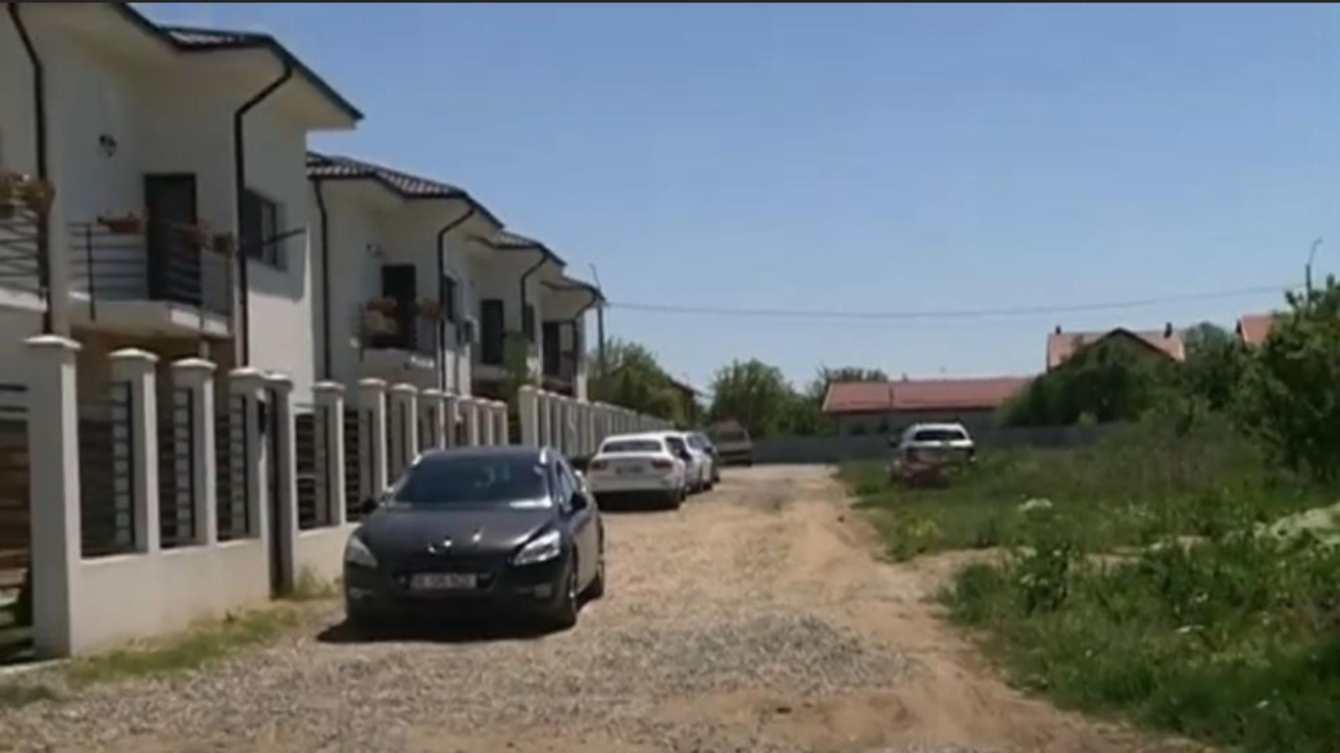 Multe cartiere rezidențiale din București nu beneficiază de utilități. Foto/Captură video