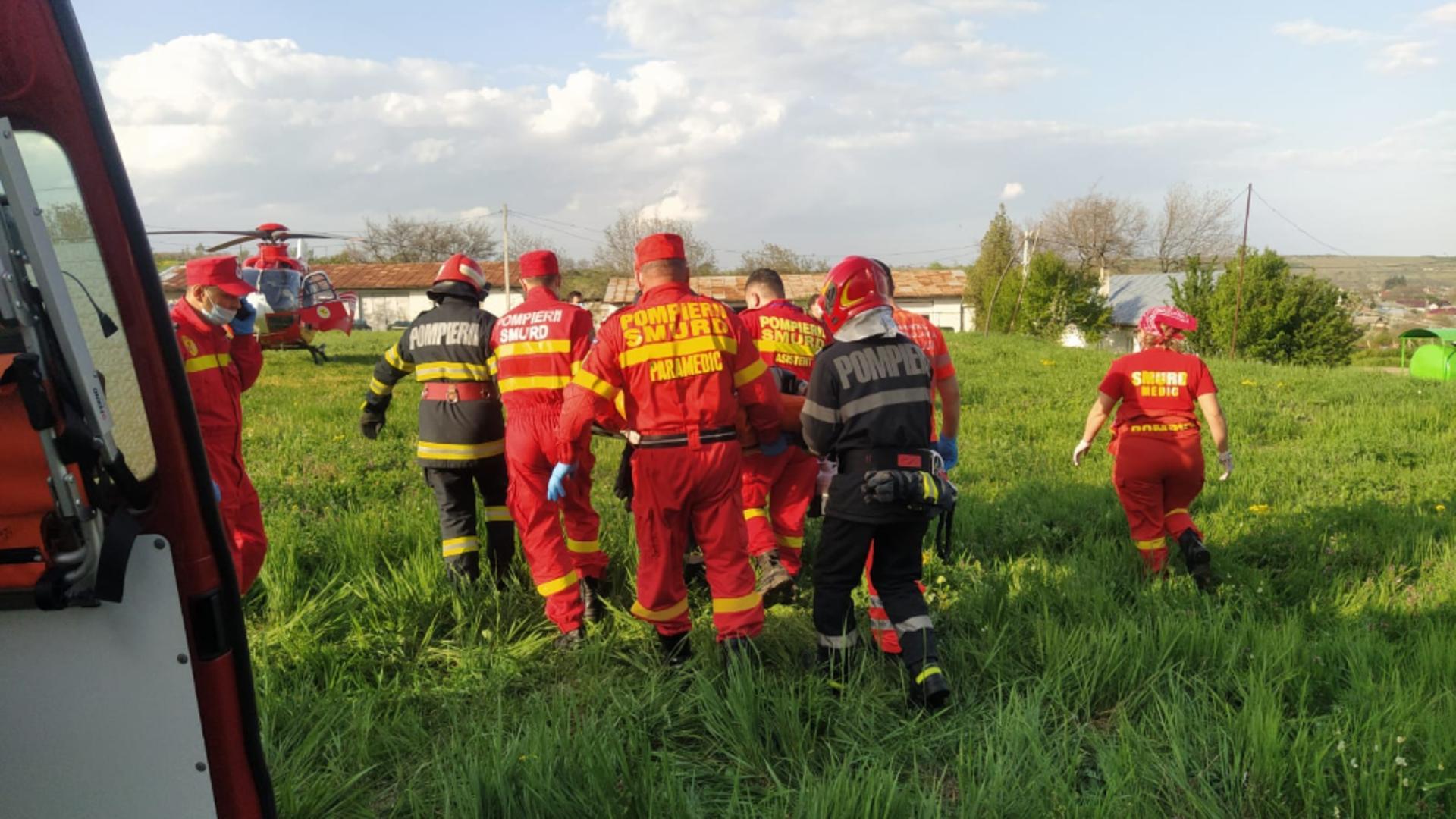 Două adolescente au fost rănite în localitatea Buneşti / Foto: vremeanoua.ro