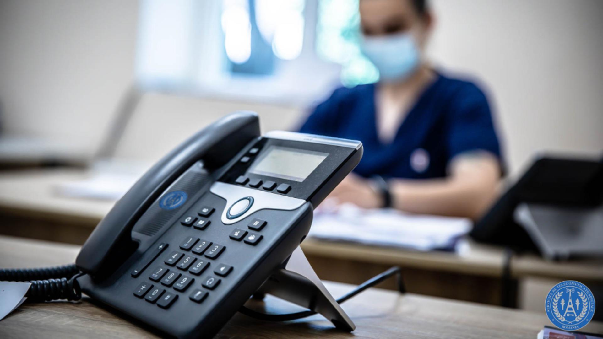 Linie telefonică pentru consultare psihologică