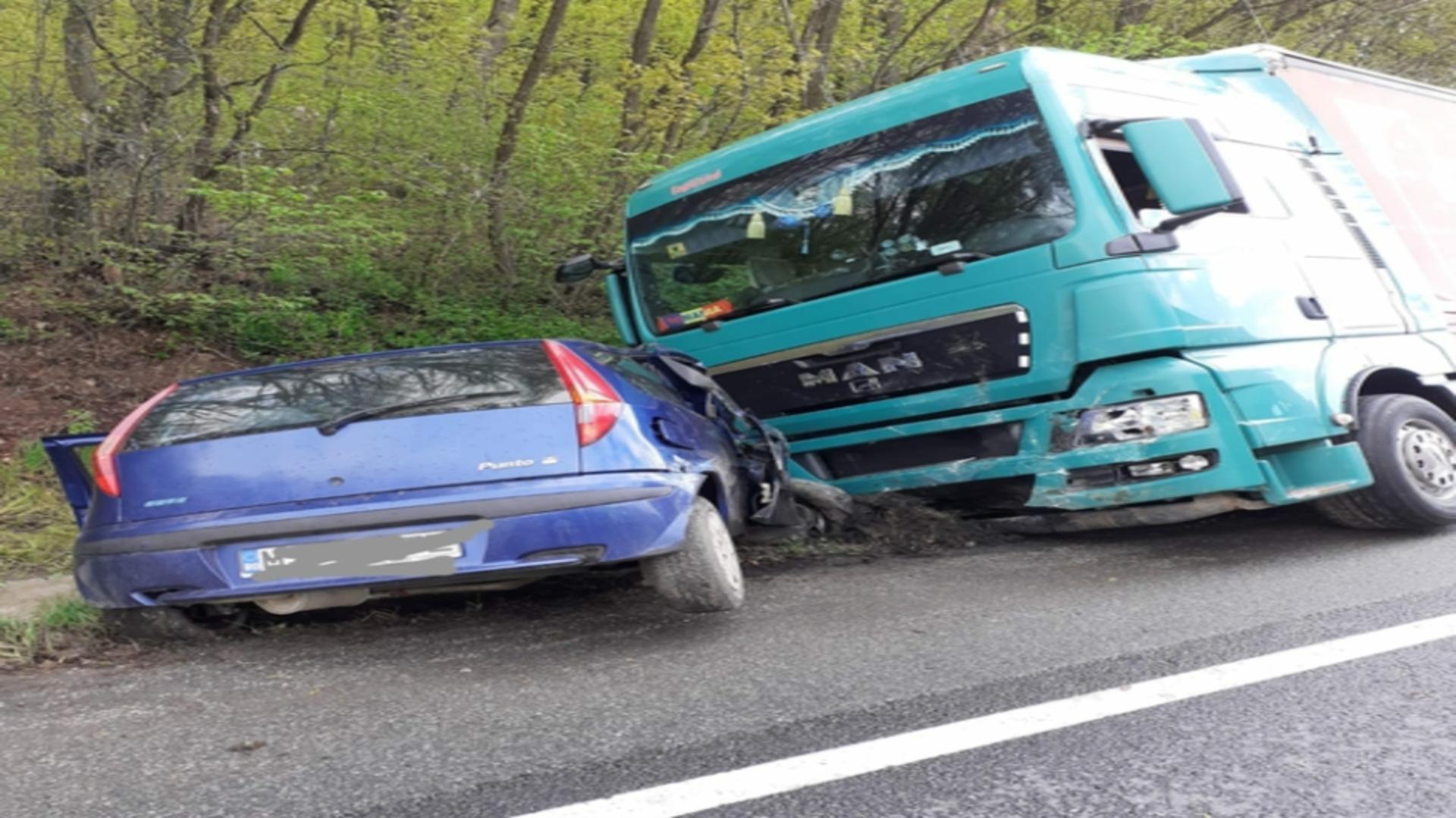 Accident mortal pe o sosea din Cluj