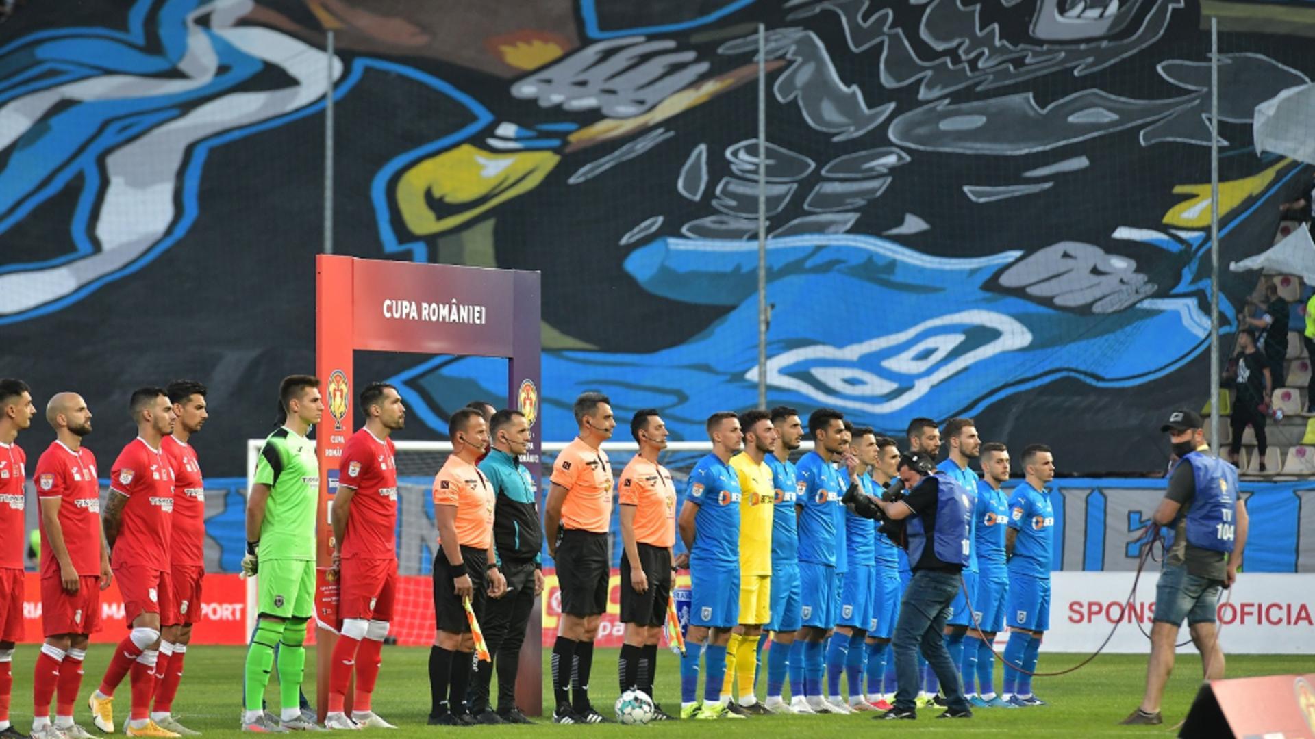 Craiova a învins Astra cu 2-1 în finala Cupei României