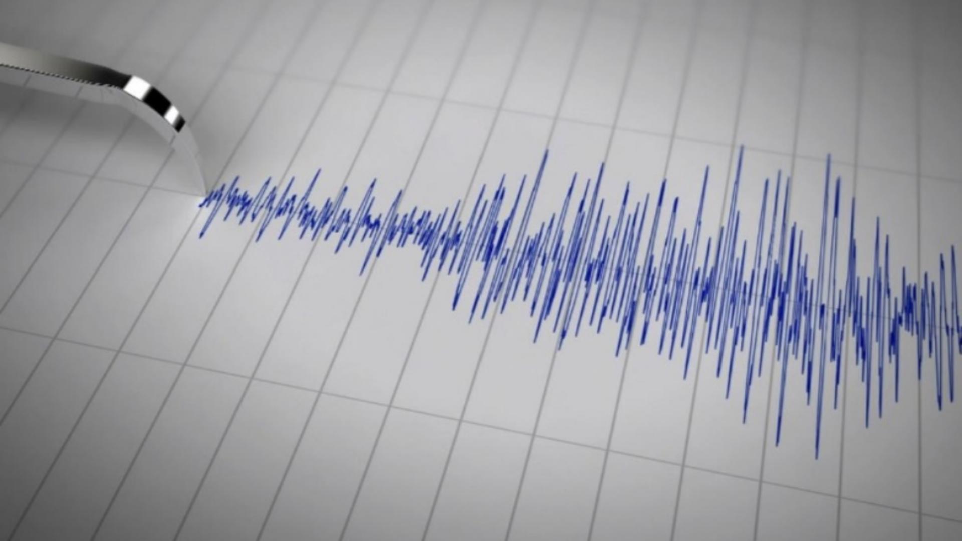 Potrivit INFP, cutremurul a avut loc la o adâncime de 133 km