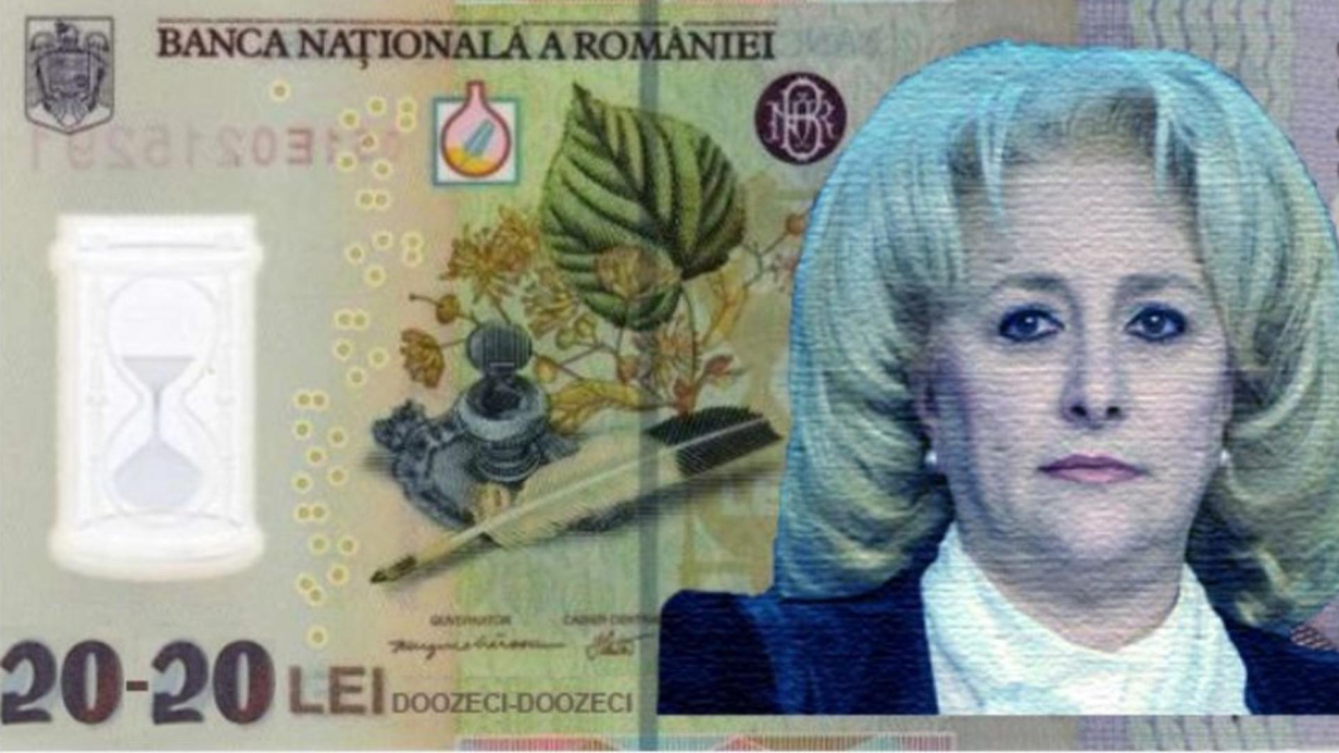 Numirea Vioricăi Dăncilă la Banca Națională a României - subiect de meme pe net