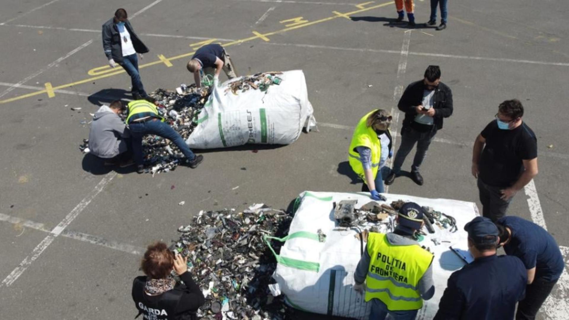 Deseuri/Sursa foto: Garda de Mediu Constanta