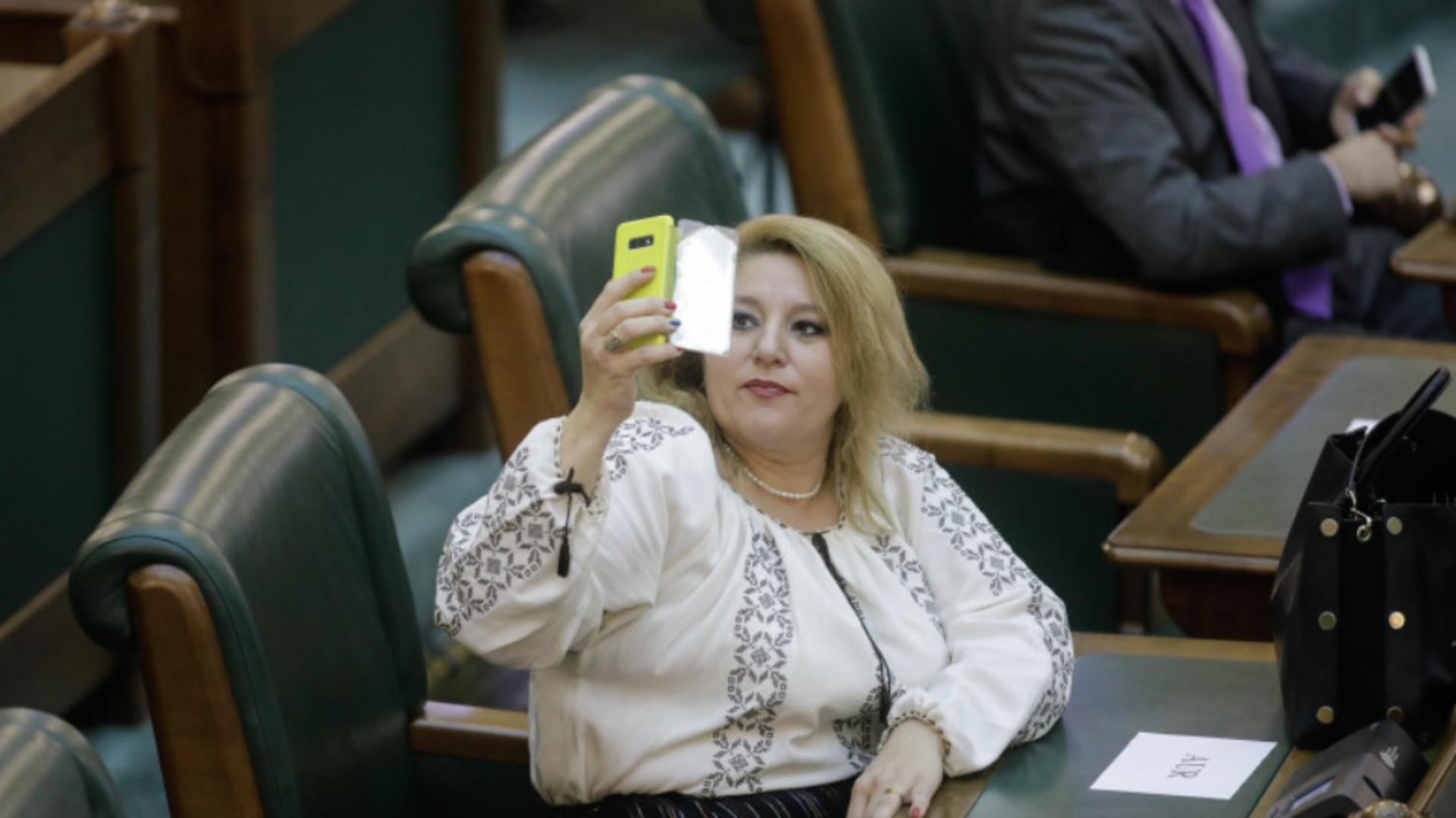 Diana Șoșoacă, senator independent