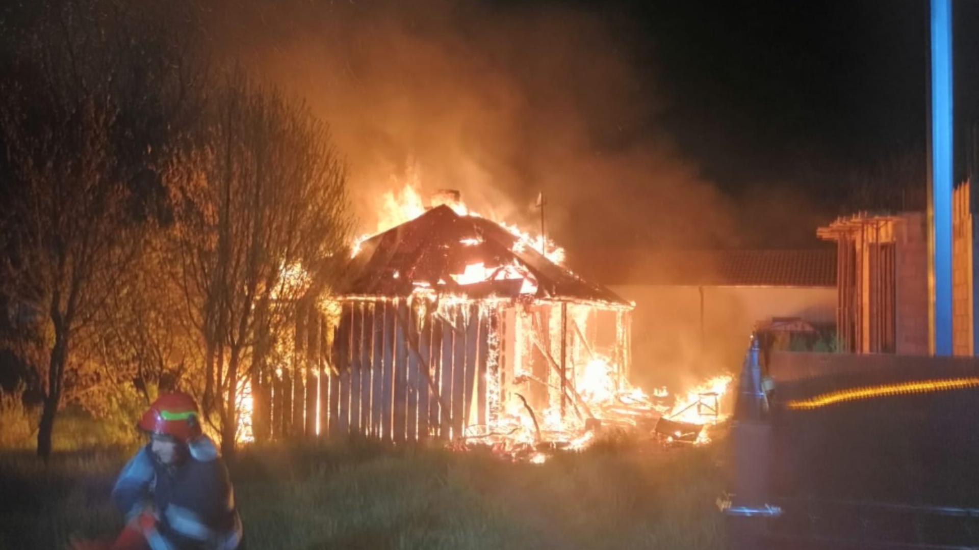 Incendiu devastator Dorohoi