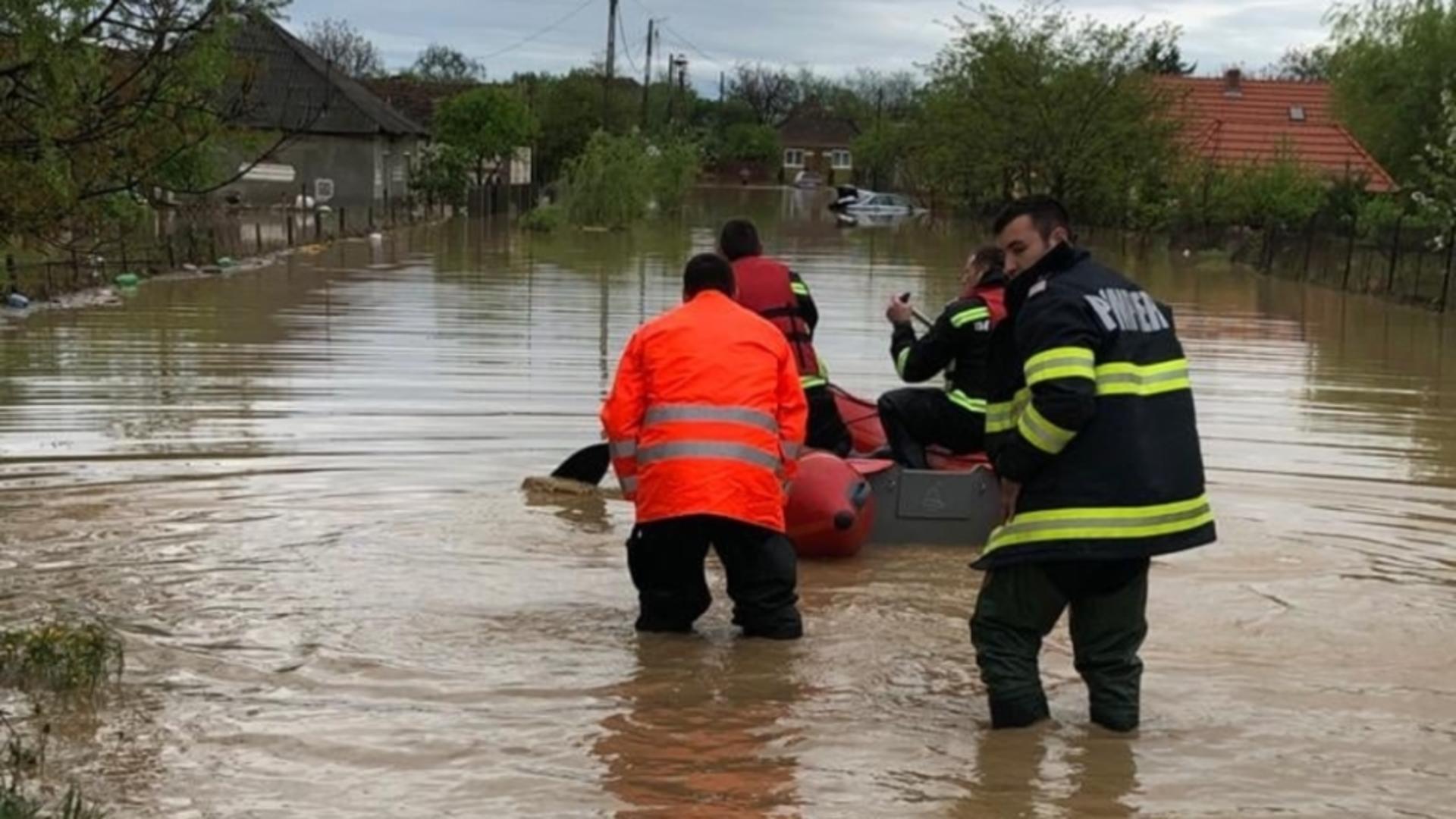 Inundații  Satu Mare