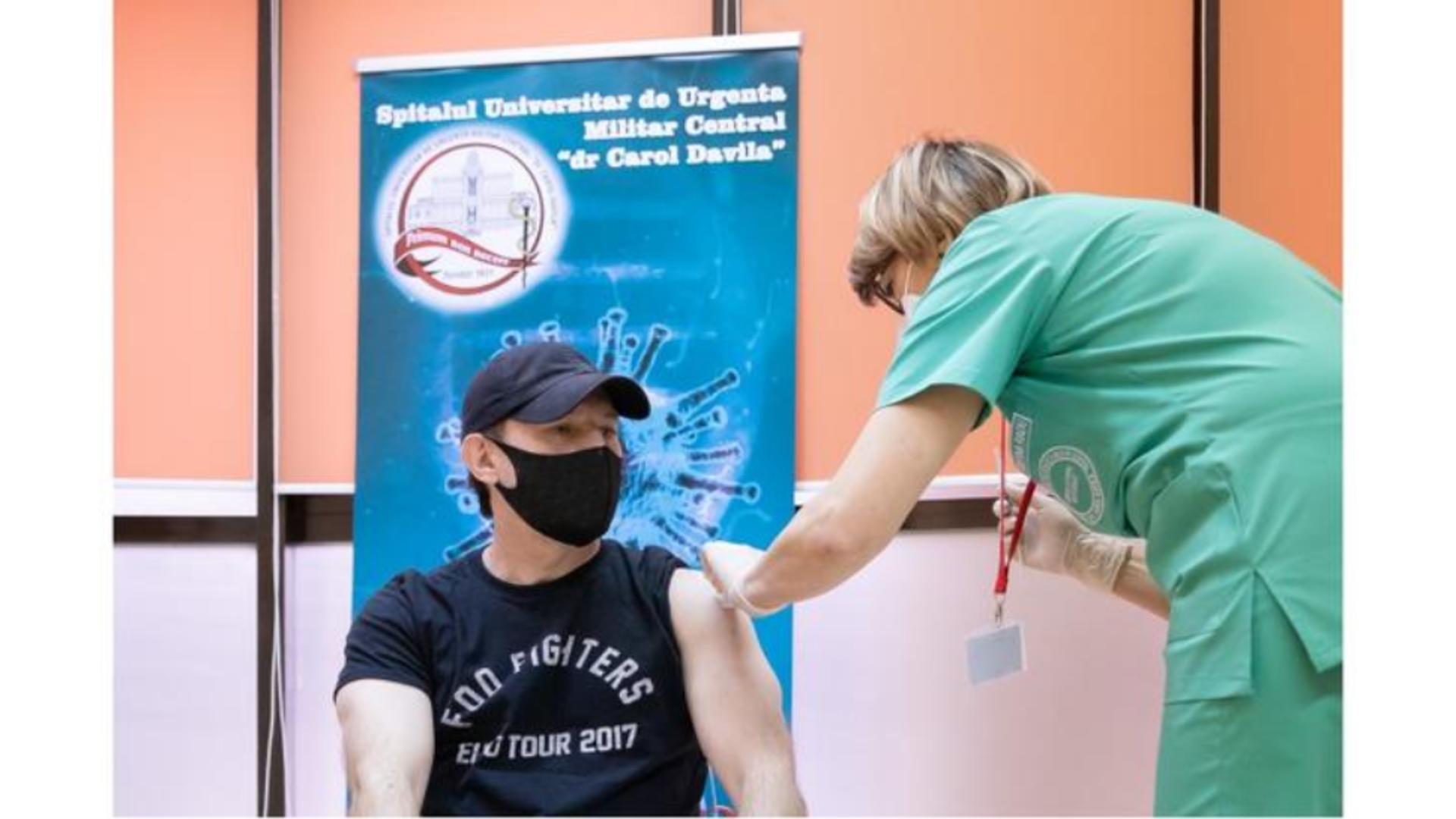 Florin Cîțu face un nou anunț legat de campania de vaccinare împotriva COVID-19 Foto: Facebook.com