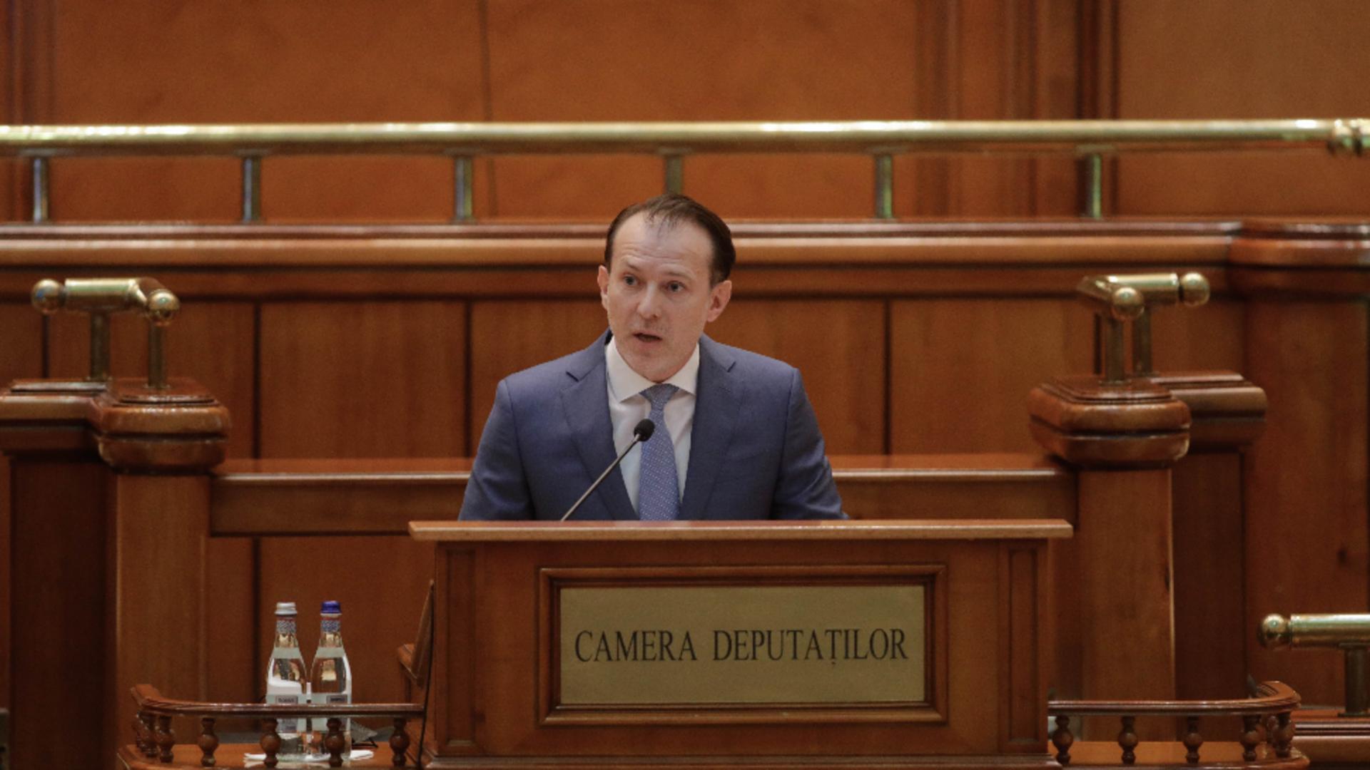 Florin Cîțu, prim-ministrul României / Foto: Inquam Photos