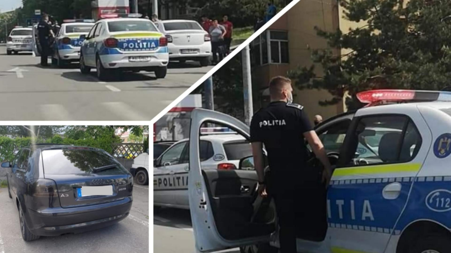 Scandal in plina strada, la Craiova (foto: Europol)
